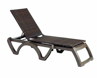 Java Adjustable Sling Stacking Chaise Lounge - Image 2