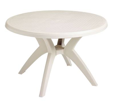 "46"" Round Ibiza Resin Table - Image 4"