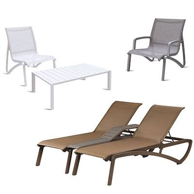 Grosfillex Patio Furniture - Sunset Sling