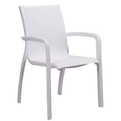 Grosfillex Patio Furniture - Sunset Sling - Sunset Sling Stacking Armchair