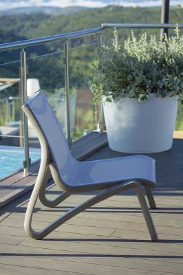 Sunset Sling Armless Lounge Chair - Arms sold separately. - Image 3