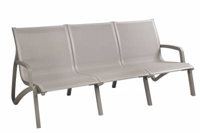 Grosfillex Patio Furniture - Sunset Sling - Sunset Sling Sofa