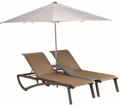 Sunset Sling Duo Chaise Lounge with Console - Image 3