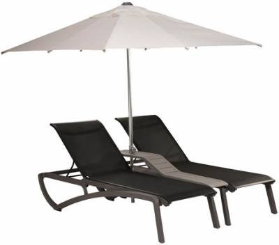 Sunset Sling Duo Chaise Lounge with Console - Image 4