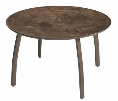 """Grosfillex Patio Furniture - 42"""" Round Sunset Table"""