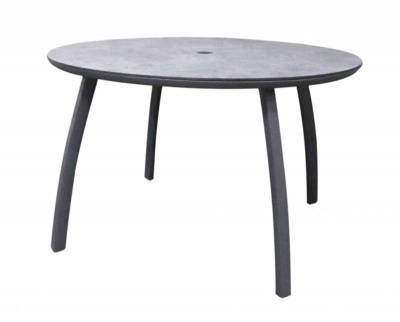 "Grosfillex Patio Furniture - Sunset Sling - 48"" Round Sunset Table"
