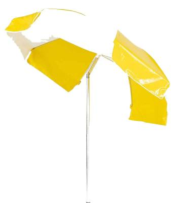 Umbrellas & Bases - Quick Ship Umbrellas - 7 1/2 Ft. Laurel Flat Top Umbrella, Steel Ribs - Push Up Style with Tilt