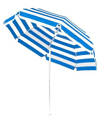 Laurel 7 1/2 Ft. Flat Top Umbrella, Steel Ribs - Push Up Style with Tilt - Image 2