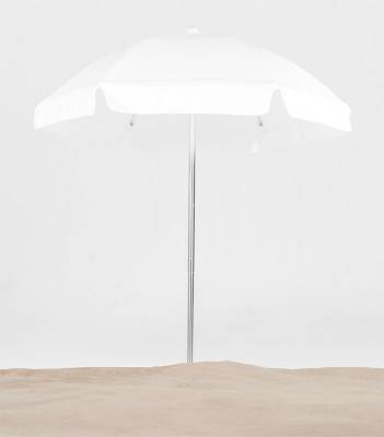 Avalon 6 1/2 Ft. Flat Top Umbrella, Fiberglass Ribs - Push Up Style without Tilt - Image 2