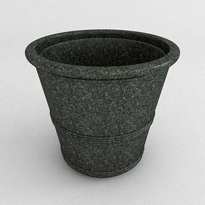 Miscellaneous - Commercial Planters - Barrel Vase Resin Planter