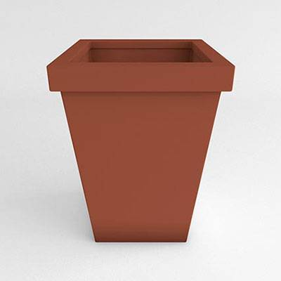 Miscellaneous - Commercial Planters - Brickel Vase Resin Planter