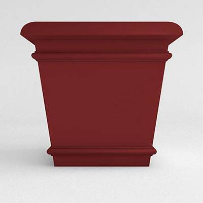 Miscellaneous - Commercial Planters - California Square Resin Planter