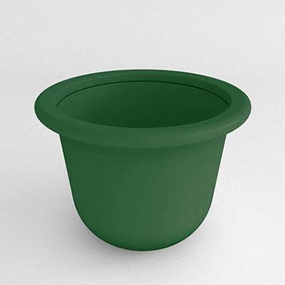 Contemporary Resin Planter - Image 1