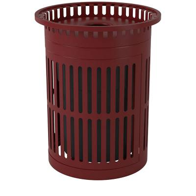 32 Gallon Metro Style Trash Receptacle With Hinged Side Door - Image 3