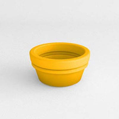 Bowl Vase Resin Planter - Image 1