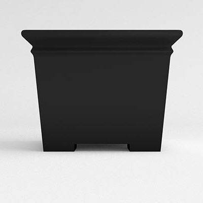 Square Footed Resin Planter - Image 2