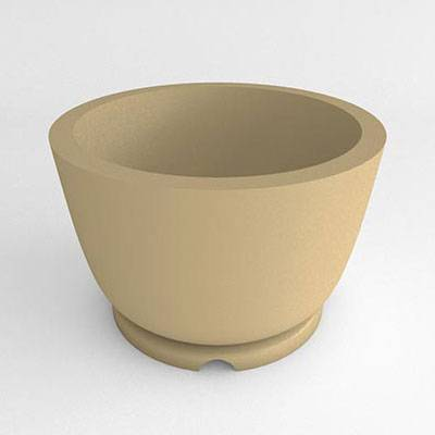 Miscellaneous - Commercial Planters - Round Pedestal Resin Planter