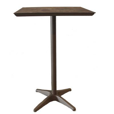 "28"" Square Sunset Bar Table - Image 1"