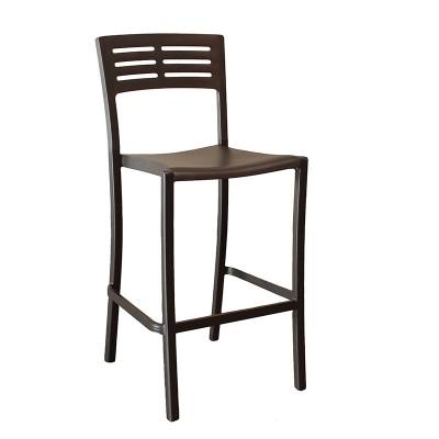 Vogue Armless Stacking Barstool - Image 4