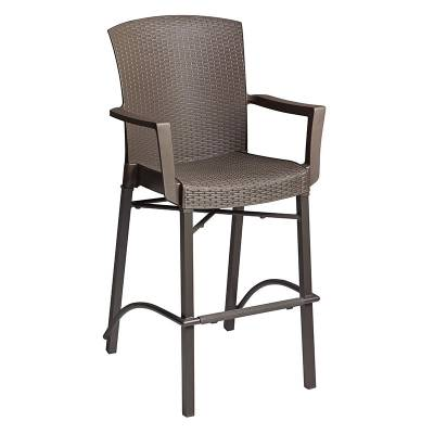 Grosfillex Patio Furniture - Bar Tables & Chairs - Havana Classic Barstool