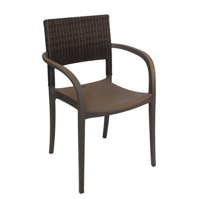 Java Wicker Stacking Armchair - Image 1