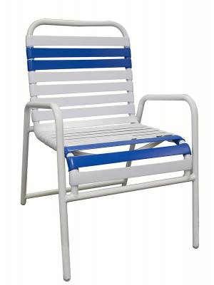 Welded Contract Lido Stacking Strap Chair - Image 1
