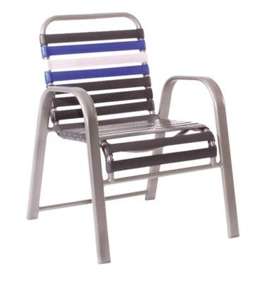Welded Contract Bonaire Stacking Strap Chair - Image 2