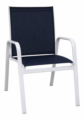 Poolside Furniture - Patio Sling Furniture - Generations Low Back Stacking Sling Chair