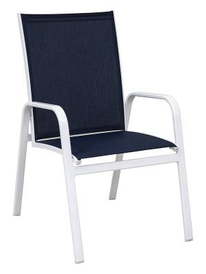 Poolside Furniture - Patio Sling Furniture - Generations High Back Stacking Sling Chair