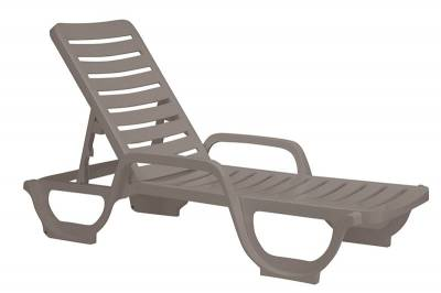 Bahia Contract Stacking Adjustable Chaise Lounge - Pack of 2 - Image 3