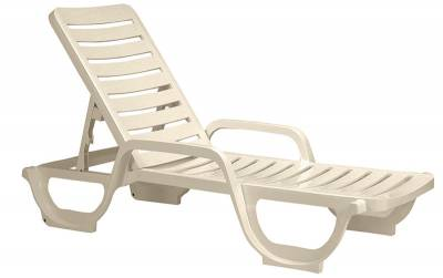 Bahia Contract Stacking Adjustable Chaise Lounge - Pack of 2 - Image 2