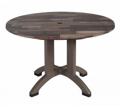 "42"" Round Atlanta Decor Table - Four Styles Available - Image 3"