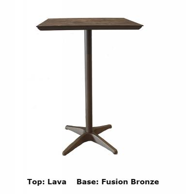 "28"" Square Sunset Bar Table - Image 3"