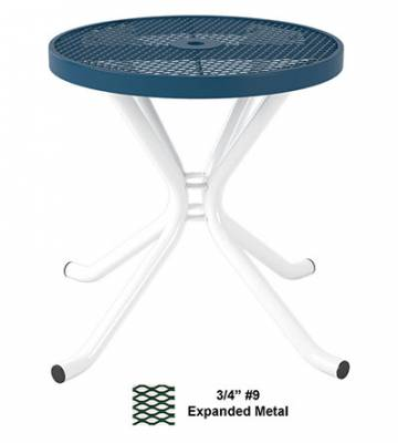 "Picnic Tables - Patio Tables and Seating - 30"" & 42"" Round Cafe Table - Portable"