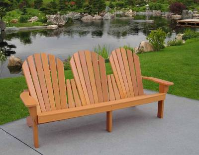 Adirondack Chairs - Grand Isle Adirondack Bench