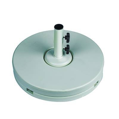 80 Lb. 2 Pc. Resin Coated Weighted Umbrella Base. - Image 4