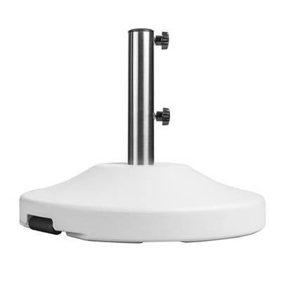 80 and 120 Lb. Round Freestanding Base with Wheels. - Image 2