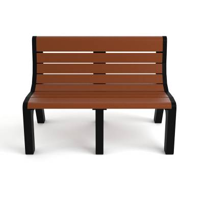 4', 6' and 8' Newport Recycled Plastic Bench – Portable - Image 4