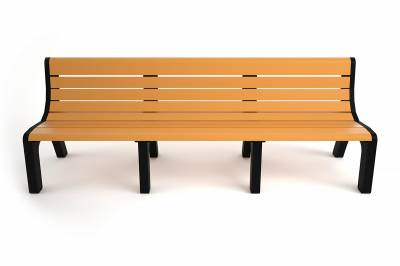 4', 6' and 8' Newport Recycled Plastic Bench – Portable - Image 5