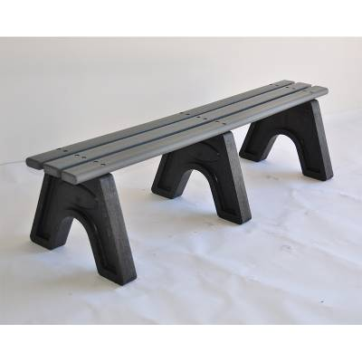 4', 6' and 8' Sport Recycled Plastic Bench - Portable  - Image 4