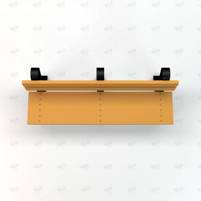 4', 6' and 8' Windsor Recycled Plastic Bench - Portable - Image 5
